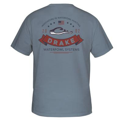 Drake Waterfowl Ribbon Logo Tee