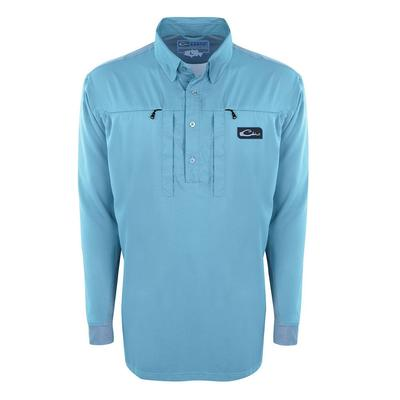 Drake Waterfowl Shield 4 Cast-Away Performance L/S Shirt
