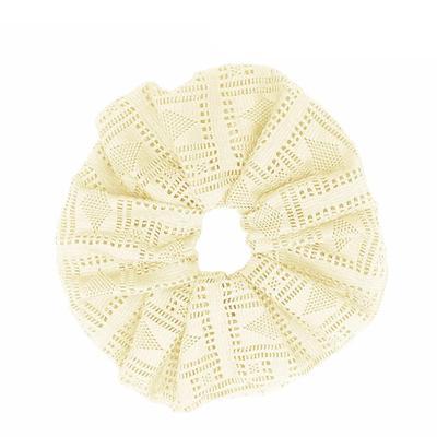 Ladies Large Knit Hair Scrunchy