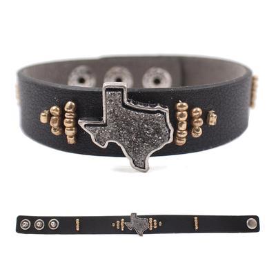 Ladies Little Texas Studded Cuff