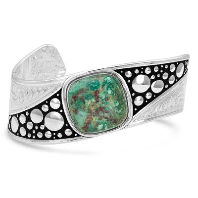 Montana Silversmiths Make Some Waves Turquoise Cuff Bracelet