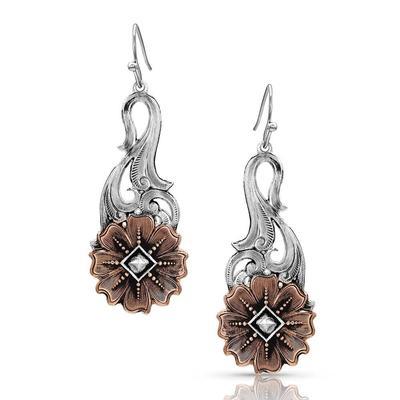 Montana Silversmiths Wildflower Kaleidoscope Earrings