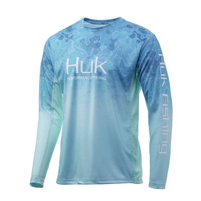 Huk Men's Icon X Camo fade Fishing Shirt