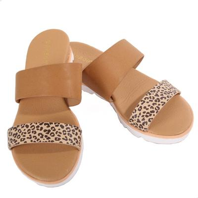 Women's Double Strap Platform Sandals