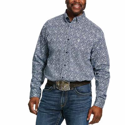 Ariat Men's Nellings Print Classic Fit Shirt