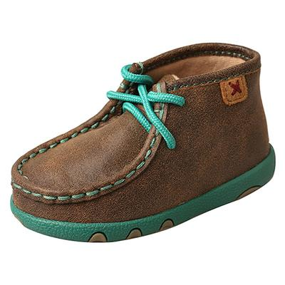 Twisted X Infant's Turquoise Lace-Up Shoes