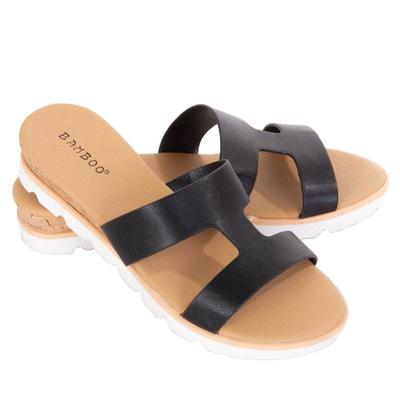 Women's Slip-On Platform Sandals