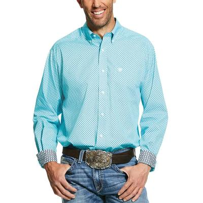 Ariat Men's Wrinkle Free Pasadena Print Classic Fit Shirt