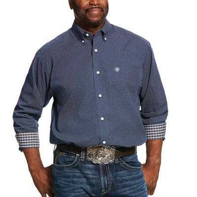 Ariat Men's Wrinkle Free Pismo Print Classic Fit Shirt