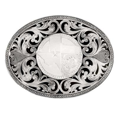 Montana Silversmith Texas Proud Filigree Buckle