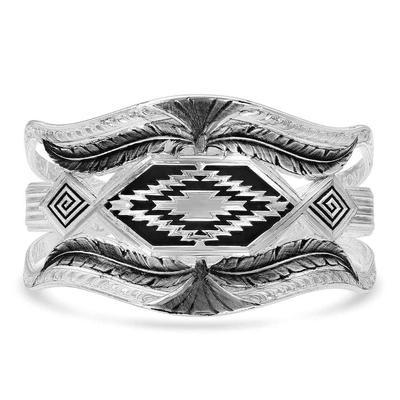 Montana Silversmiths Courage & Strength Feather Cuff Bracelet