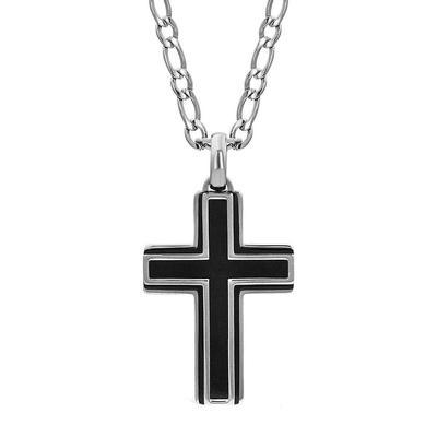 Montana Silversmiths Boldly In Faith Cross Necklace