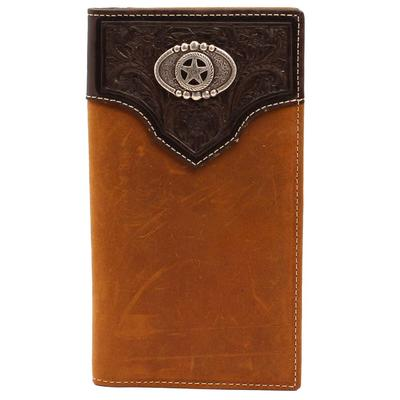 Nocona Bi-fold Leather Rodeo Wallet
