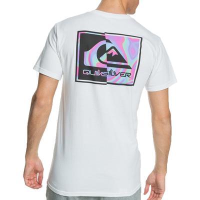 Quicksilver Men's Fractal Logo Tee