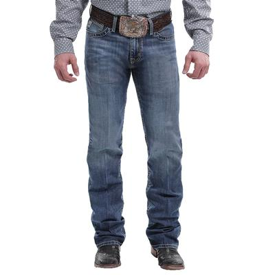 Cinch Men's Ian Mid Rise Slim Fit- April Jean