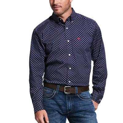 Ariat Men's Venton Print Fitted Shirt