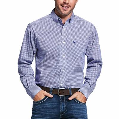 Ariat Vale Print Str Fitted Shirt