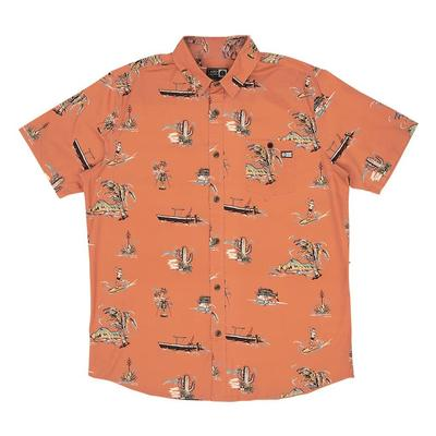 Salty Crew Pescador Short Sleeve Woven Shirt