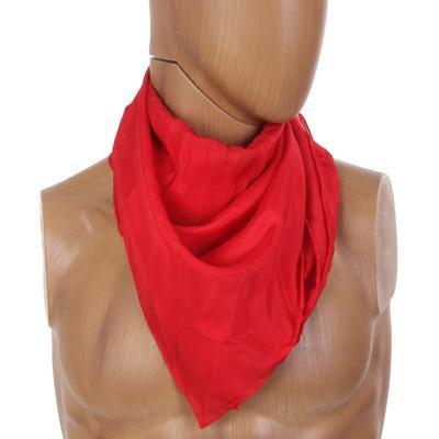Red Silk Wild Rag