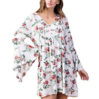 Kori Women's Floral Boho Dress
