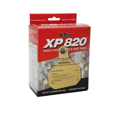 Y-Tex Xp 820 Insecticide Cattle Ear Tags