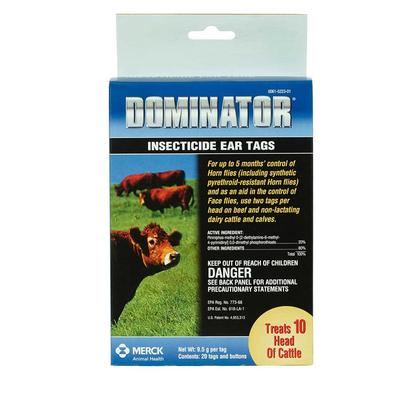 Dominator Insecticide Ear Tags