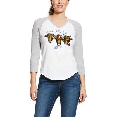 Ariat Women's Hay Girl T- Shirt