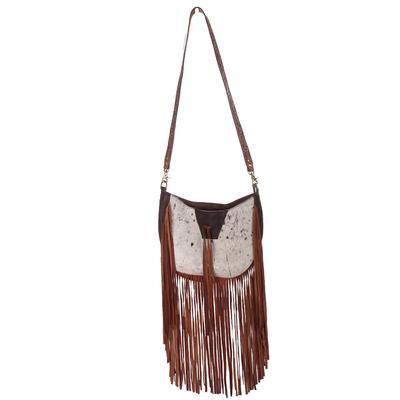 American Darling Large Fringe & Cowhide Bag