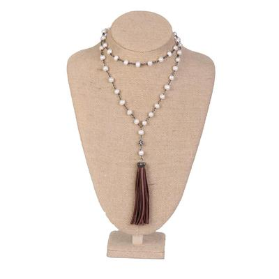 Tassel Pearled Necklace