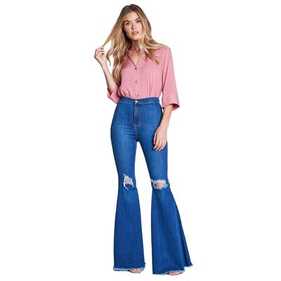 Vibrant MIU Women's High Waisted Flare Jeans