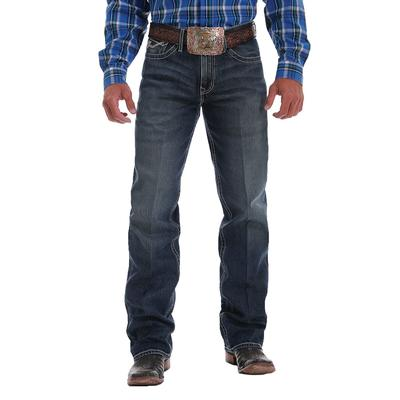 Cinch Men's Dark Stone Grant Relaxed Fit Jeans