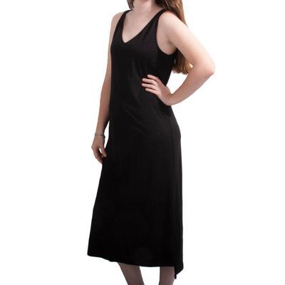 Women's Black Tank Top Dress