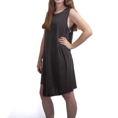 Women's Black Erika Slit Dress