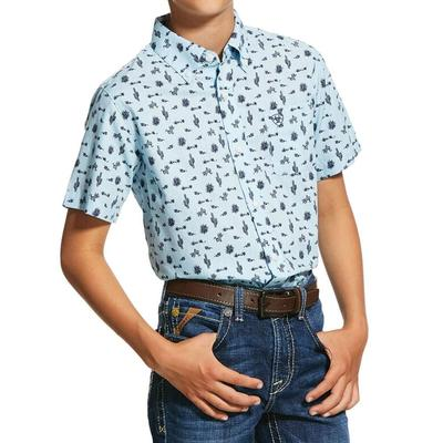 Ariat Boy's Norristown Print Shirt