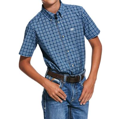 Ariat Boy's Pro Series Wave Rider Shirt