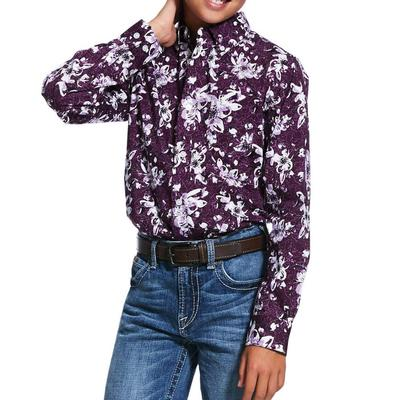 Ariat Boy's Rio Print Stretch Shirt