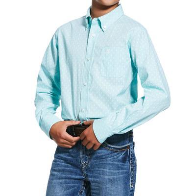 Ariat Boy's Rohnert Print Shirt