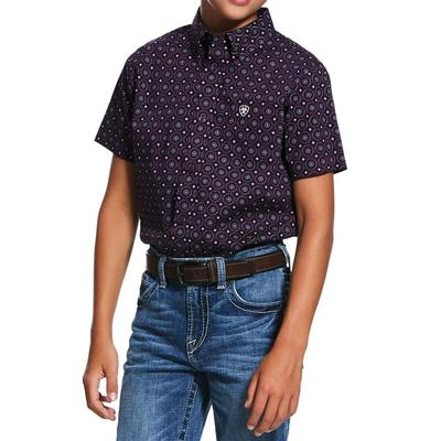 Ariat Boy's Redland Print Shirt
