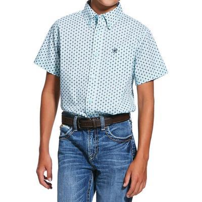 Ariat Boy's Reedley Print Shirt