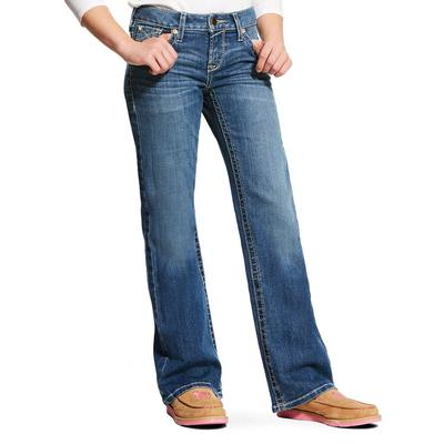 Ariat Girl's Whipstitch Boot Cut Jeans
