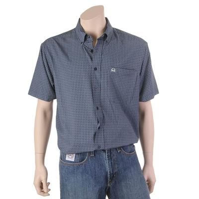 Cinch Men's Short Sleeve Printed Button Down Shirt