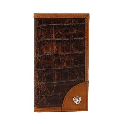 Ariat Rodeo Crocodile Shield Wallet
