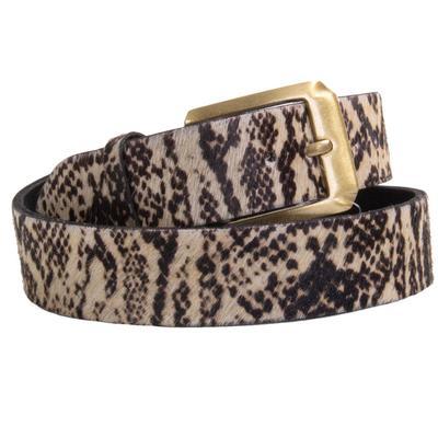 Women's Snake Print Belt
