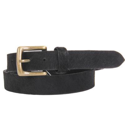 Women's Black Cowhide Belt