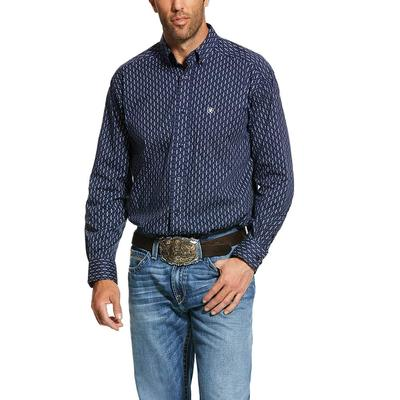 Ariat Men's Loveland Print Stretch Classic Fit Shirt