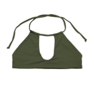 Dippin' Daisy's Women's Hi-Neck Keyhole Bikini Top