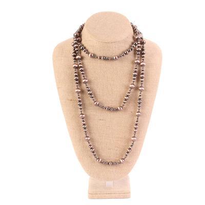 74 Inch Elemental Multi Beaded Necklace COP