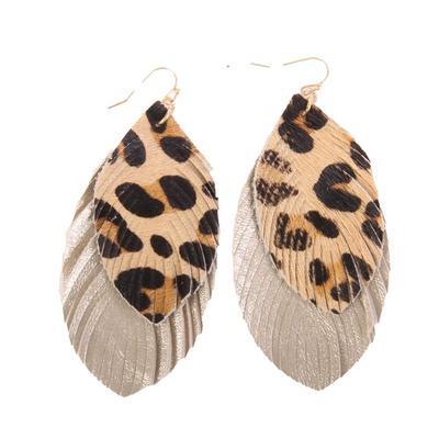 2 Layer Fringe Earrings