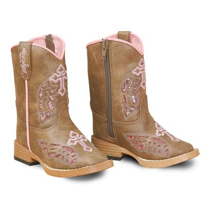 M&F Western Toddler Gracie Wing Cross Boots
