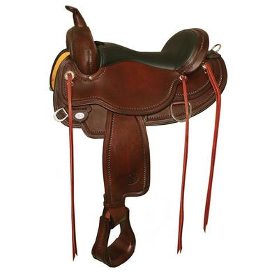 Circle Y Of Yoakum Omaha Flex2 Trail Saddle 15 Inch